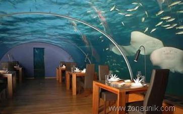 Restaurant bawah laut ( Maldives )