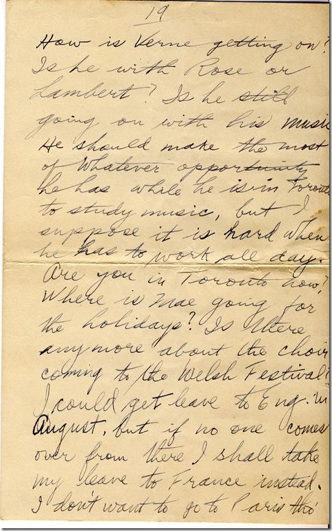 1 June 1919 19
