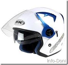 Helm INK Putih