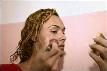 detentos maquiagem