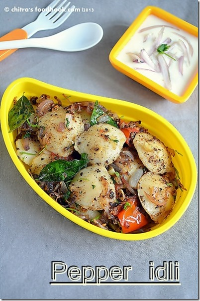 Pepper idli plate