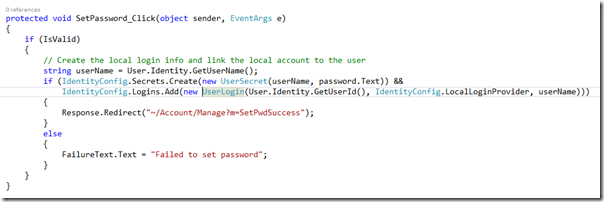 CodeWrittenVisualStudio2013
