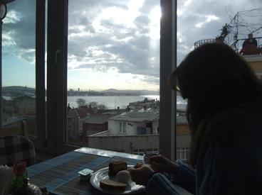 desayuno en el Tulip, Estambul