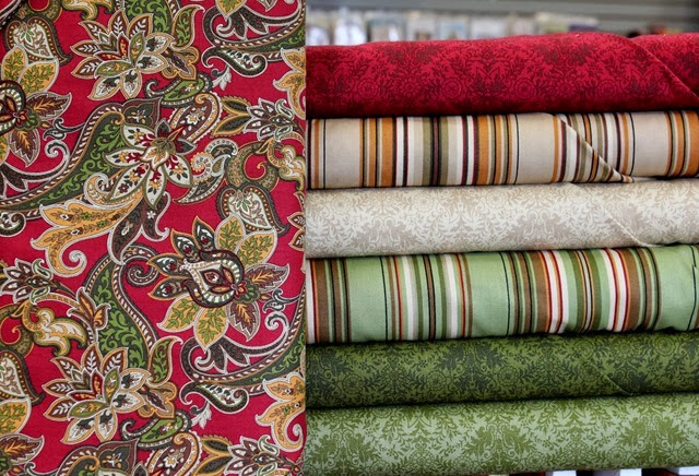 Lauren fabrics via The Fabric Mill
