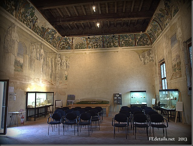 La Sala delle Vigne di Belriguardo, Voghiera,Ferrara,Italia - The Hall of the vineyards of Belriguardo Voghiera, Ferrara, Italy, Photo3