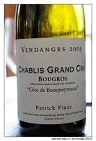 patrick_piuze_Chablis-Grand-Cru-Bougros-Cote-de-Bouqueyreaux-2009-