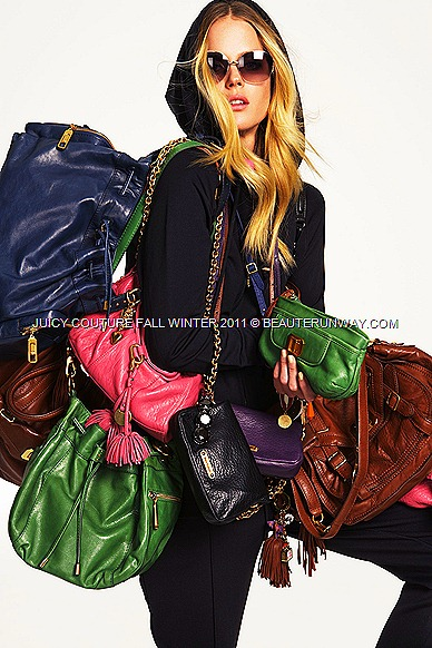 JUICY COUTURE Fall Winter 2011 bags collection