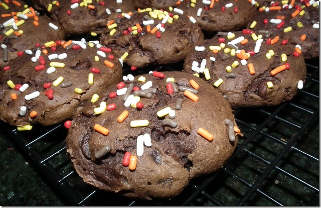 !: Devil's Food Cake Mix Cookies and Pumpkin Spice Cake Mix Cookies ...