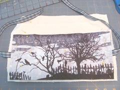 canvas Halloween fabric book1
