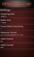 Screenshot of AfterRecorder - Audio Recorder