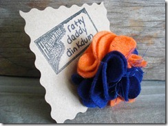 Florida Gators Flower Pin