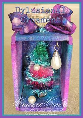 "Dylusions Ornament Inspiration Emporium ""Joyful Creations"" Challenge"
