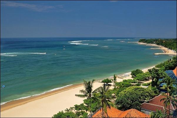 شاطئ سانور جزيرة بالي