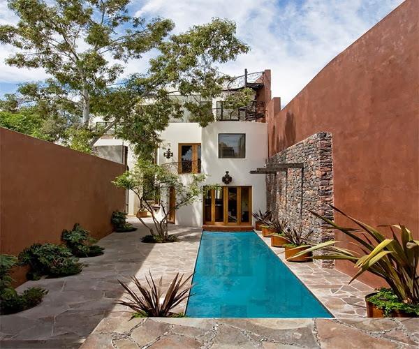 Casa lluvia blanca house house architects m xico - Arquitectura rustica moderna ...