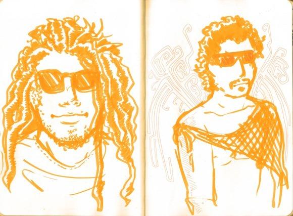 Sketch Bahia - UP 5