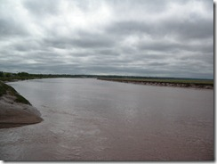 Petitcodiac River 1 hr after Tidal Bore