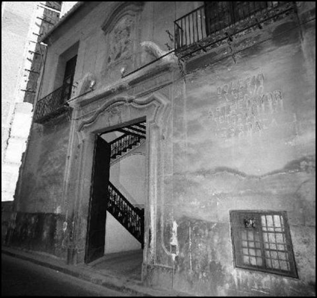 colegio mayor de la seda años ca 1960
