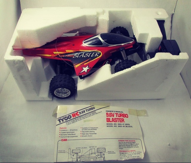 Blaster Remote Control Car Open Box