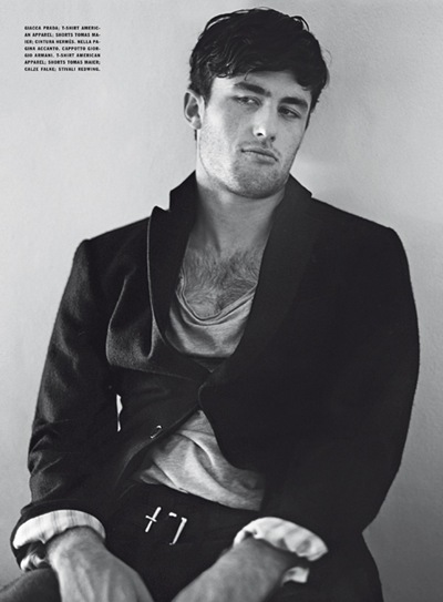 James Frecheville by Bruce Weber for L'Uomo Vogue, Jul/Aug 2011