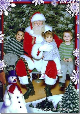 with Santa 2007 001