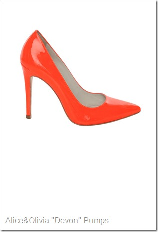 Alice & Olivia 'Devon' high heel pumps,