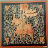 Gobelin 9097, Le chevalier, 150x150cm, 200x150cm, 150x110cm, 100x75cm