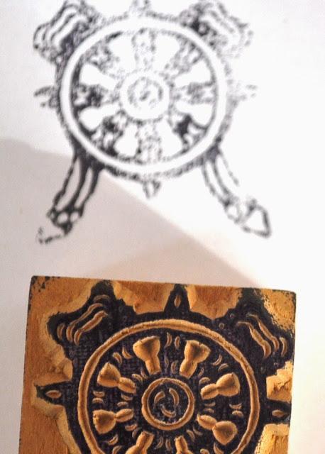 Wooden Block Stamp