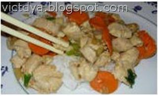 Как приготовить курицу по-китайски