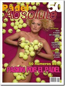 Número 50 de la revista PADEL ABSOLUTE ya en la calle. Todas las portadas publicadas.