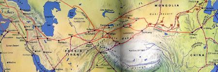 Drumul matasii prin Asia Centrala