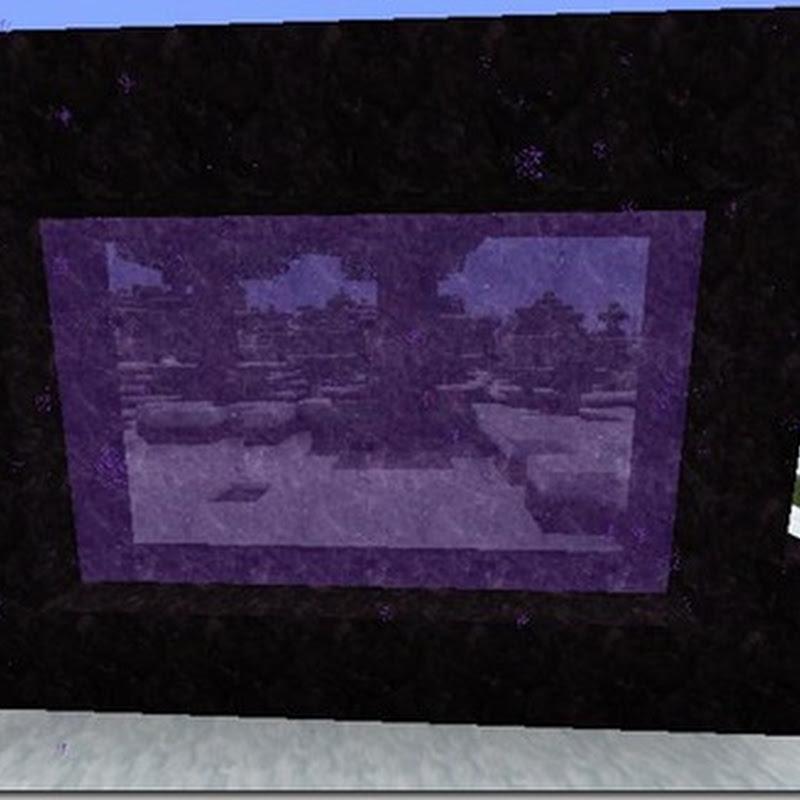 Minecraft 1.4.6 - Enhanced Portals Mod (Portali)