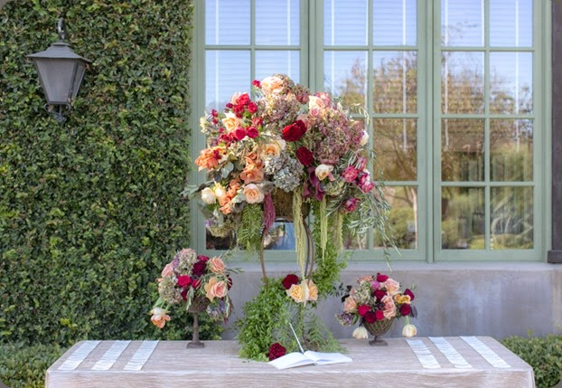 escort table fall-centerpiece-wedding-ideas  joseph matthew photo and aileen tran