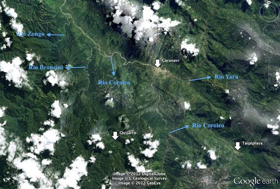 La région de Caranavi