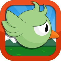 Gravity Snipe flappy bird clone