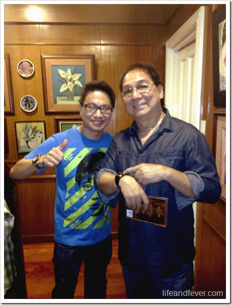 Joey de Leon and Stanley Chi