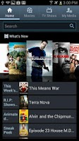 Screenshot of Media Hub – Samsung Vibrant