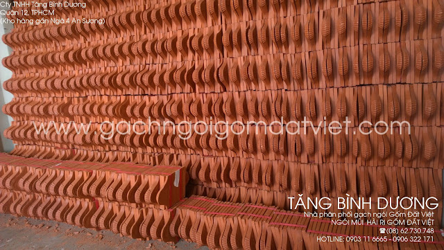 Ngói mũi hài ri Gốm Đất Việt  (ngói ri)