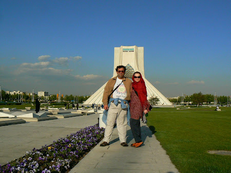 Things to see in Teheran: Azadi