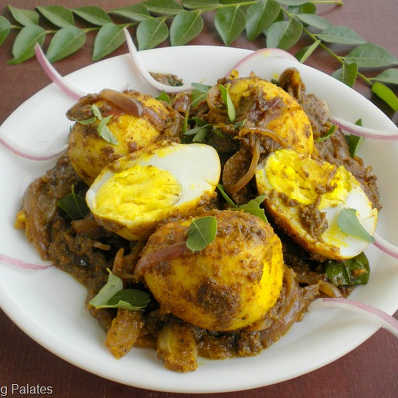 Roasted Egg Curry