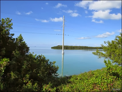 view from along the Overseas highway,