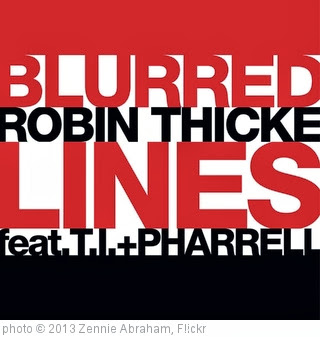 'Blurred Lines Robin Thicke Sang Marvin Gaye's Sexual Healing In 2012' photo (c) 2013, Zennie Abraham - license: http://creativecommons.org/licenses/by-nd/2.0/