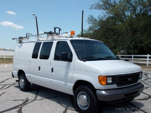2003 ford econoline cargo van specifications pictures prices. Black Bedroom Furniture Sets. Home Design Ideas