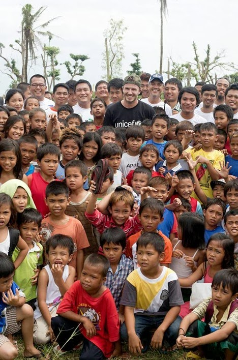 David Beckham Typhoon Haiyan Unicef (9)