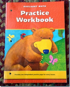 K - Hardcourt Math - Practice Workbook