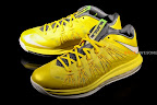 nike lebron 10 low gr green white 1 01 LEBRON X LOW, KOBE 8 and KD V   Nike Easter Collection