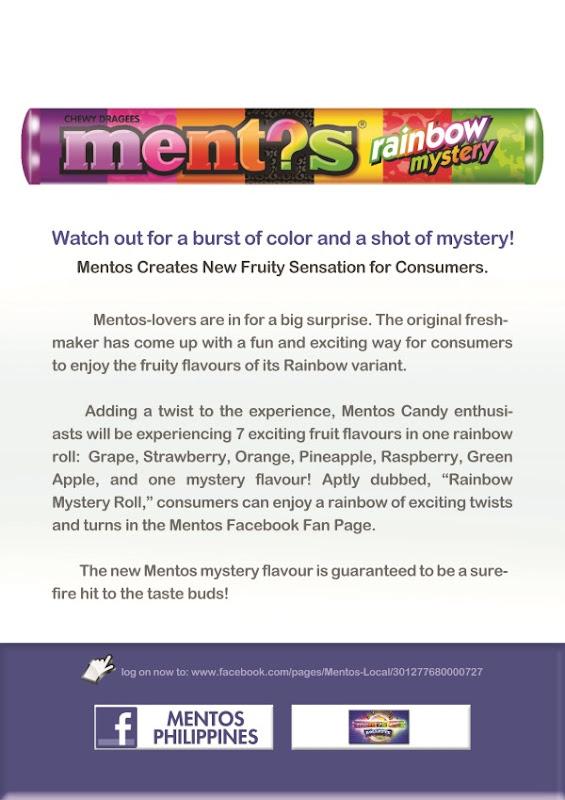 Mentos Mystery Flavor