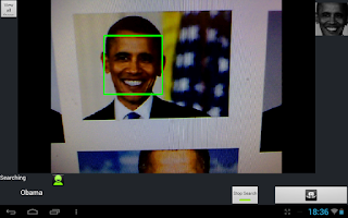 Screenshot of Face Recognition with OpenCV