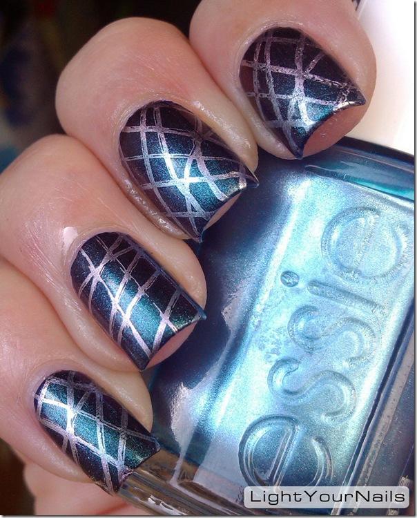 Essie metallics stamping