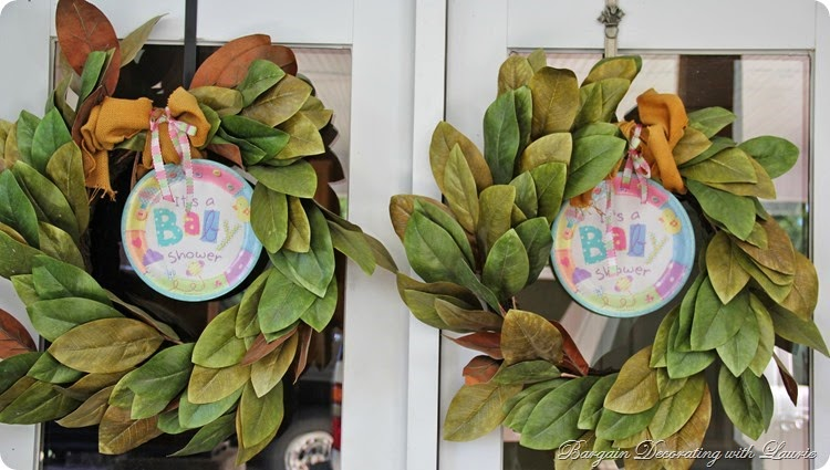 Baby Shower Wreaths