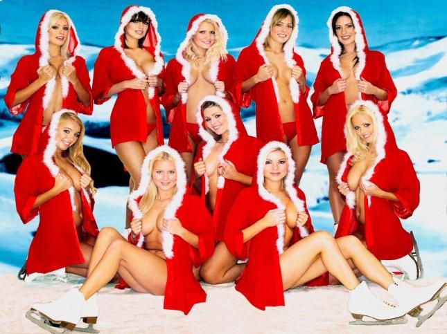 Chicas de Navidad